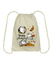 Happy Thanksgiving Drawstring Bag thumbnail