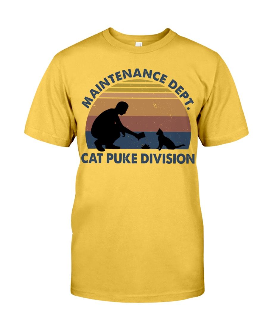 Cat Puke Division Classic T-Shirt