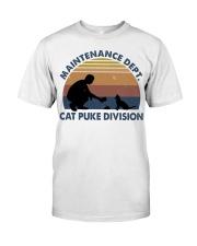 Cat Puke Division Premium Fit Mens Tee thumbnail