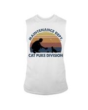 Cat Puke Division Sleeveless Tee thumbnail