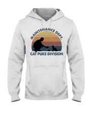 Cat Puke Division Hooded Sweatshirt thumbnail