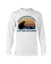 Cat Puke Division Long Sleeve Tee thumbnail