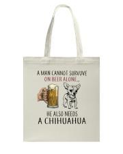 Chihuahua Tote Bag thumbnail