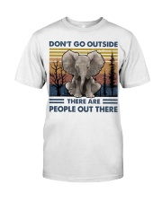 Don't Go Outside Classic T-Shirt front