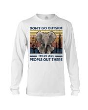 Don't Go Outside Long Sleeve Tee thumbnail