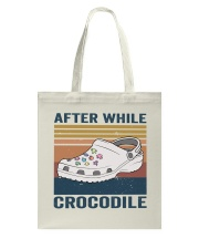 After While Crocodle Tote Bag thumbnail