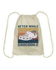 After While Crocodle Drawstring Bag thumbnail