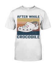 After While Crocodle Classic T-Shirt thumbnail