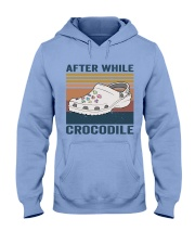 After While Crocodle Hooded Sweatshirt front