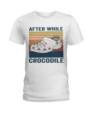 After While Crocodle Ladies T-Shirt thumbnail
