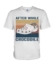After While Crocodle V-Neck T-Shirt thumbnail