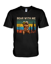 Bear With Me V-Neck T-Shirt thumbnail