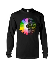 I Was Born To Be A Teacher Long Sleeve Tee thumbnail