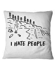 I Hate People Square Pillowcase thumbnail