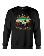 Screw A Farmer Crewneck Sweatshirt thumbnail