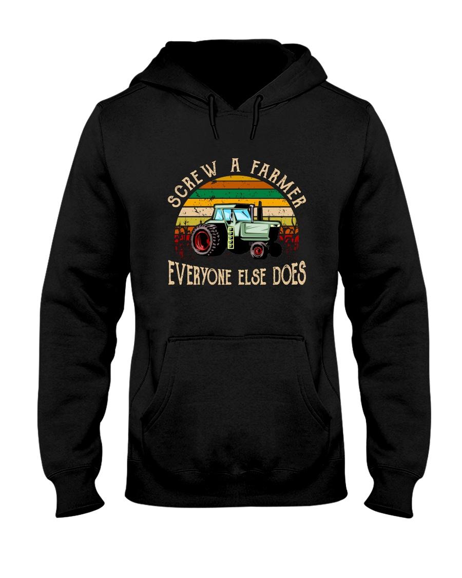 Screw A Farmer Hooded Sweatshirt
