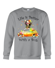 Life Is Better With A bug Crewneck Sweatshirt thumbnail