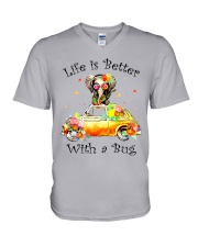 Life Is Better With A bug V-Neck T-Shirt thumbnail