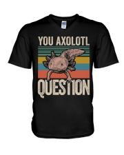 You Axolotl Question V-Neck T-Shirt thumbnail