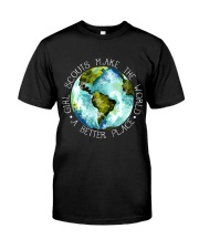 Scouts Make The World Premium Fit Mens Tee thumbnail