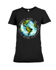 Scouts Make The World Premium Fit Ladies Tee thumbnail