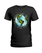 Scouts Make The World Ladies T-Shirt thumbnail
