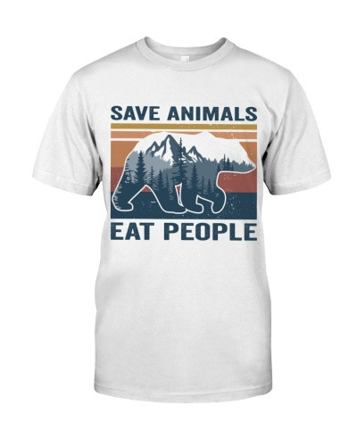 Save Animals Eat People