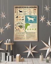 Labrador Retriever Knowledge 11x17 Poster lifestyle-holiday-poster-1