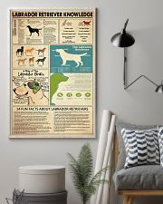 Labrador Retriever Knowledge 11x17 Poster lifestyle-poster-1