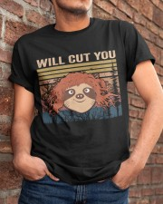 Will Cut You Classic T-Shirt apparel-classic-tshirt-lifestyle-26