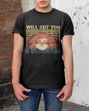Will Cut You Classic T-Shirt apparel-classic-tshirt-lifestyle-31