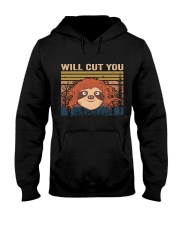 Will Cut You Hooded Sweatshirt thumbnail