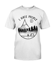 I Hate People 1 Classic T-Shirt thumbnail