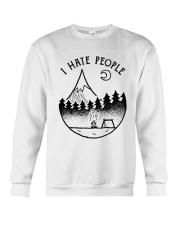I Hate People 1 Crewneck Sweatshirt thumbnail