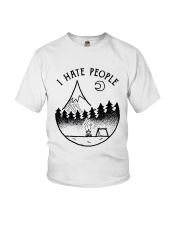 I Hate People 1 Youth T-Shirt thumbnail