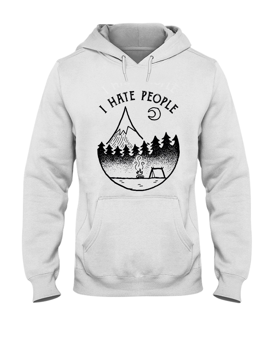I Hate People 1 Hooded Sweatshirt