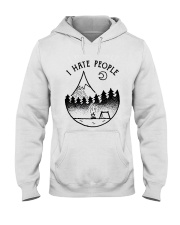 I Hate People 1 Hooded Sweatshirt front
