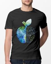 I Became A Teacher Classic T-Shirt lifestyle-mens-crewneck-front-13