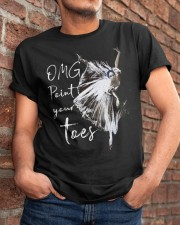 OMG Point Your Toes Classic T-Shirt apparel-classic-tshirt-lifestyle-26