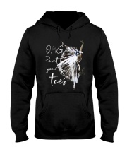 OMG Point Your Toes Hooded Sweatshirt thumbnail