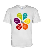 In This Classroom V-Neck T-Shirt thumbnail