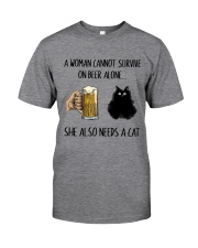 She Also Needs A Cat Classic T-Shirt front