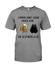 She Also Needs A Cat Premium Fit Mens Tee thumbnail