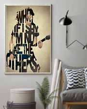 What If I Say I'm Not Like The Others 11x17 Poster lifestyle-poster-1