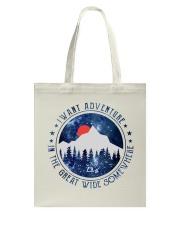 I Want Adventure Tote Bag thumbnail