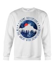 I Want Adventure Crewneck Sweatshirt thumbnail
