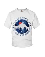 I Want Adventure Youth T-Shirt thumbnail