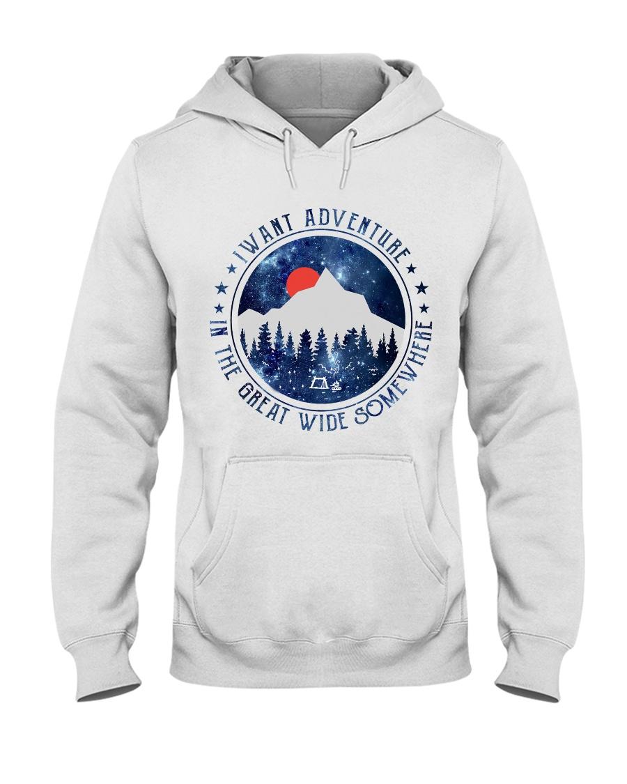 I Want Adventure Hooded Sweatshirt