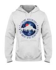 I Want Adventure Hooded Sweatshirt front