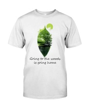 Going To The Woods Is Going Home Classic T-Shirt thumbnail